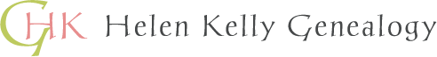 Helen Kelly Genealogy logo